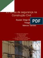 25 falhas de segurança na Construção Civil.ppt