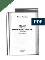 118669968 Florin Abraham Romania de La Comunism La Capitalism