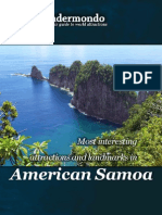 Most interesting landmarks and attractions in American Samoa