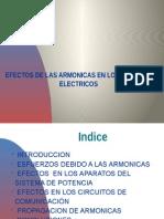 Efectos de Los Armonicos en Los Sistemas Electricos