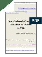 01 Libro - Compilación de Consultas en Materia Laboral 1 Edición 2011-2012