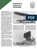 Sukhoi Tupolev Design