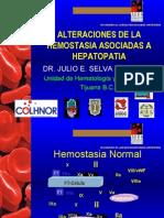 Hemostasia y Hepatopatia