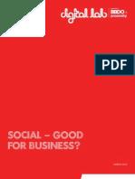 Social--Good for Business?