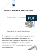 Sistemas de Control Administrativo