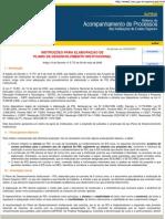 Instruções Preliminares - PDI