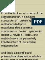 tzimtzum - kenosis as cosmic metanarrative