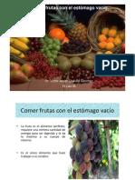 RECETAS FRUTAS DIABETICOS