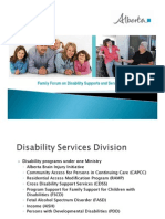PDD Family Forum PowerPoint Presentation