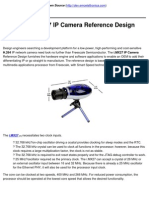Freescale i.mx27 IP Camera Reference Design