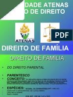 PARENTESCO E FILIAÇÃO word 2003