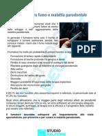 Relazione tra Fumo e Malattia Parodontale
