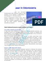 Uso del laser a diodi in odontoiatria