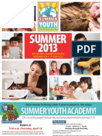 Summer Youth Academy 2013
