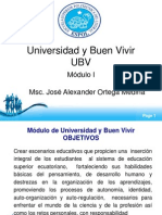 UBV 1 - Msc Ortega