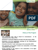 Water for Life Program Sep 10