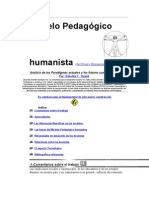 Modelo Pedagógico humanista