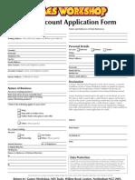 Trade Application Ts&Cs