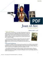 biography- joan of arc