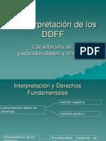 La InterpretaciondelosDDFF