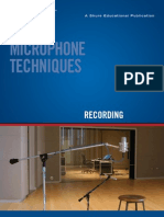 Microphone Techniques for Recording