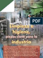 Revista Limpieza e Higiene Piezas Clave Para La Industria