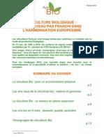 Viticulture Bio Europeenne