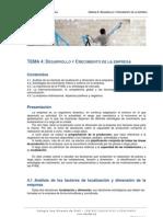 Desarrollo y Crecimiento de La Empresa