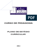 Manual Para Plano de Estagio Pedagogia