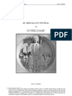 6618030 El Medallon Central de Notre Dame de Paris Critica a FulcanelliAlquimia Hermetismo