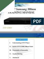 Training Manual DVD-E360.En