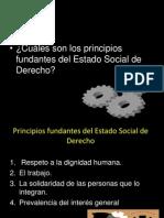 3 Clase Principios Fundantes Del Estado Social de Derecho.