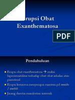 Erupsi Obat Exanthematosa