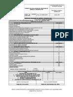 Formato de Evaluación del Programa de Limpieza y Desinfección