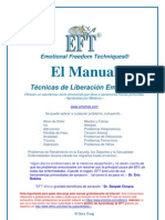 EFT Tapping Manual en Espanol