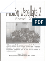 Misión Uspallata 2. 2003.