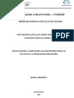 Aposentadoria Compulsória dos Servidores Públicos Estaduais e o Federalismo Brasileiro