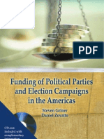 Funding of Political Parties and Election Campaigns in the Americas