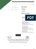 Algebra Lineal y Sus Aplicaciones - David c. Lay