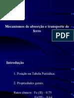 Anemia - Dr Pedro Melnikov Fe