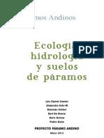 Ecologia Paramos3 Baja - Curso Hidrologia