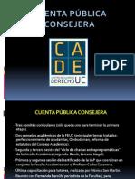 Cuenta Publica Abril