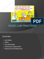 Basic Lab Practices