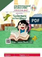 Programa FIL Anexo Gaceta Actualizado Al 9 de Abril