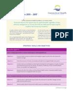 CT Health Fdn Strategic Plan 2013 2017