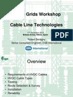 06 HVDC Cable Line Technologies - ROBERT DONAGHY (ESB International)