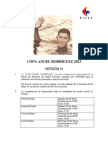 Convocatoria Copa Angel Rodriguez 2013