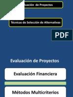 Tecnicas para evaluación de proyectos