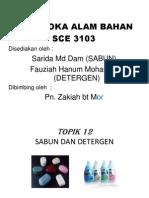 Sabun Dan Detergen