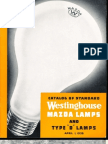 Westinghouse 1938 Mazda Lamp Catalog